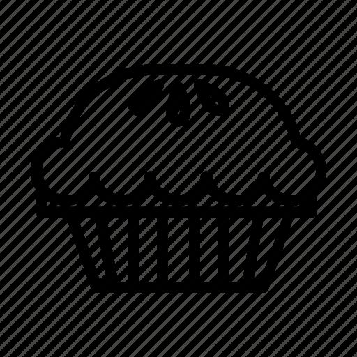bake, bakery, cupcake, dessert, pastry, pie, yummy icon