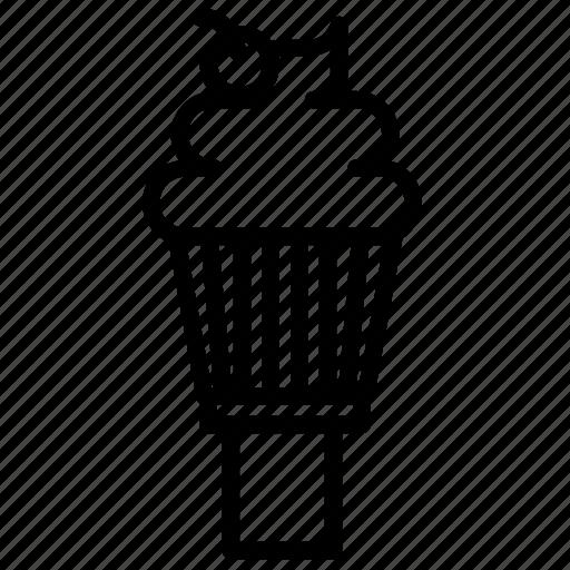 dessert, ice cream, icecream, icecream cone, softserve icon, summer, sweet icon