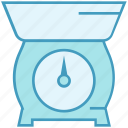 bakery, equipment, kitchenware, scale, weight icon
