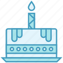 bakery, birthday cake, cake, food, muffin, sweet icon