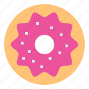 bakery, dessert, donut, sweet, sweets icon