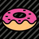 bakery, dessert, donut, sweet, sweets