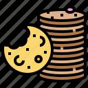 biscuit, chip, cookies, cracker, snack