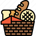bakery, baked, bread, toast, breakfast, food