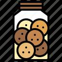 bakery, baked, cookies, jar, gastronomy, dessert