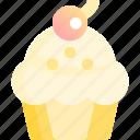 bakery, cupcake, dessert, muffin, sweet