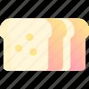 bake, bakery, bread, dough, wheat