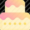 bake, bakery, cake, dessert, sweet, wedding icon