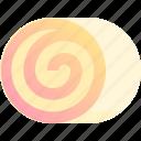 bake, bakery, dessert, roll, sweet