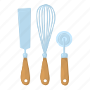 kitchen, kitchenware, outline, serving, soup, spatula, spoon icon
