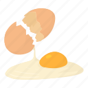bird, breakfast, cartoon, chicken, cooking, egg, food icon
