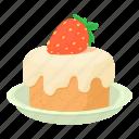 birthday, cake, cartoon, cupcake, decoration, event, meal