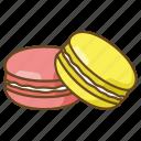 bakery, dessert, macaron, macaroon, maccarone, meringue, sweet icon