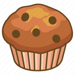 bakery, blueberry, chip, choco, muffin, savory icon