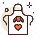 cake, chef, outfit, sugar, sweet icon
