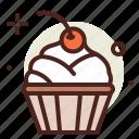 cake, cupcake, sugar, sweet icon