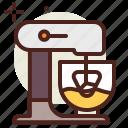 cake, kitchen, robot, sugar, sweet icon