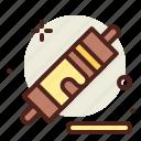 cake, roller, sugar, sweet icon