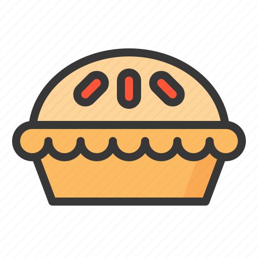 baker, bakery, bread, food, pie, sweets icon