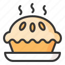 baker, bakery, bread, food, pie, sweets icon