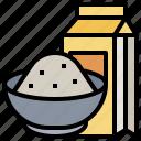 canister, cereal, flour, flours, foods, jar, wheat