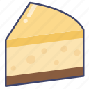 cake, cheesecake, dessert icon