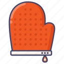 baking, glove, kitchen icon