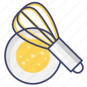 beater, mixer, whisk icon