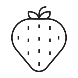 bake, bakery, desert, eating, equipment, strawberry icon