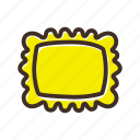 bake, bakery, cookery, dough, fast food, gastronomy, ravioli icon