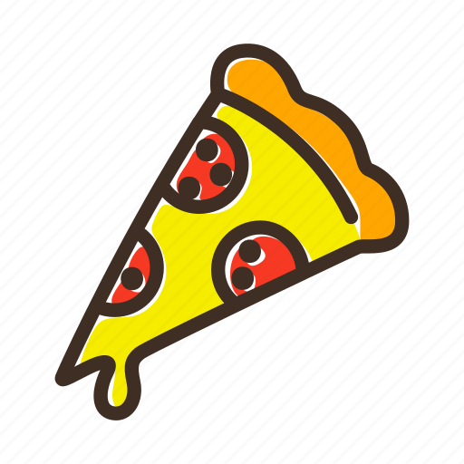 bake, bakery, cookery, dough, fast food, gastronomy, pizza icon