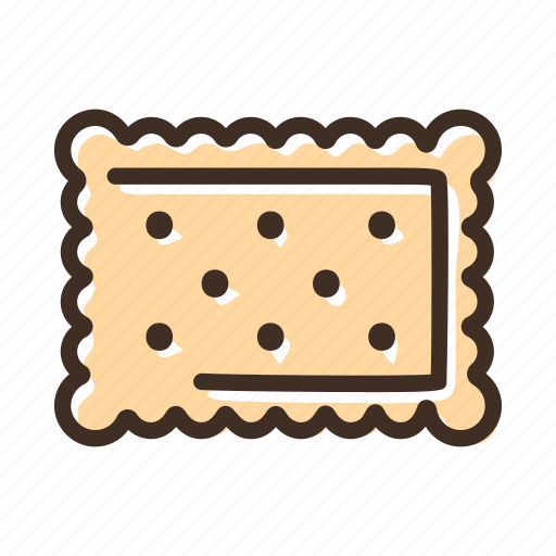 bake, bakery, biscuit, cookery, cracker, fast food, gastronomy icon