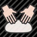 bakery, dough, gastronomy, kneading, restaurant, shop