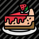 bakery, cake, cheesecake, dessert, sweet icon