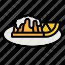 bakery, cake, dessert, lemon, sweet