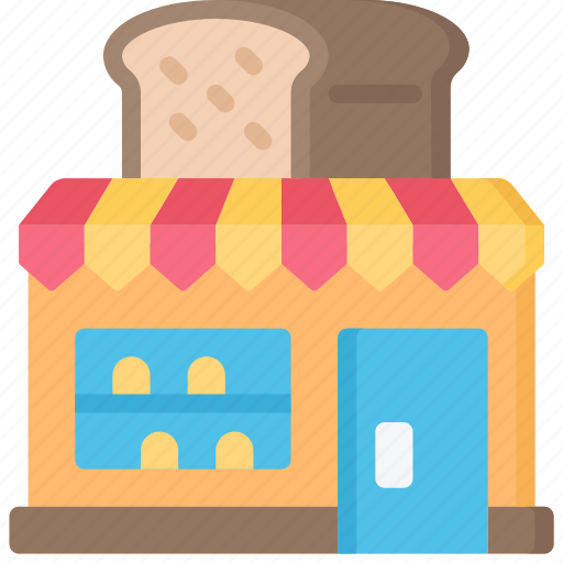 bakery, baking, cooking, shop icon