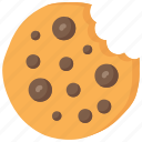 baked, baking, buscuit, cookie, cooking icon