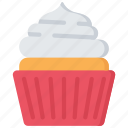 baked, baking, cakes, cooking, cupcake icon