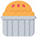 baked, baking, cooking, pie, tin icon