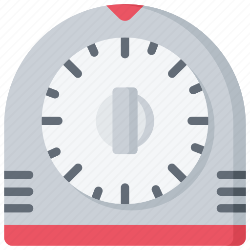 Baked Baking Cooking Timer Timing Icon