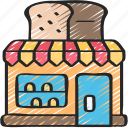 bakery, baking, cooking, shop