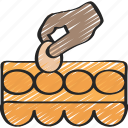 baked, baking, cooking, eggs, ingredients icon