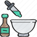 baked, baking, colouring, cooking, dye, food icon