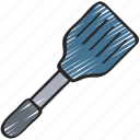 baked, baking, cooking, flipper, spatula icon