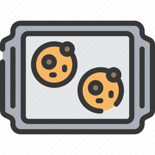 Baked, baking, cookies, cooking, tray icon - Download on Iconfinder