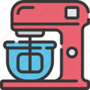 baked, baking, cooking, electric, mixer, whisk icon