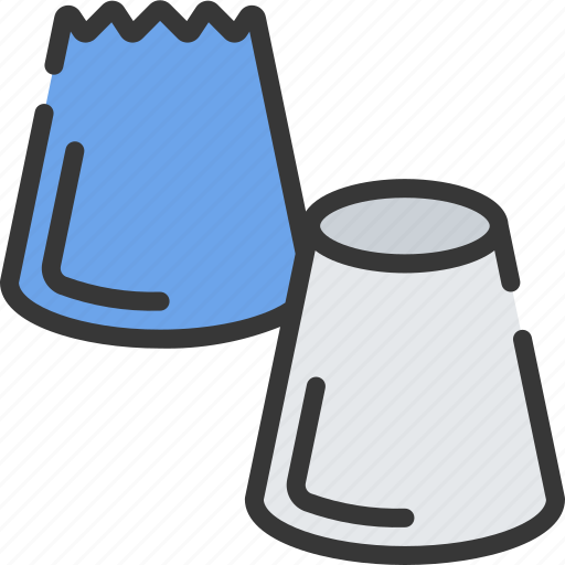 baked, baking, cakes, cooking, nozzles, piping icon