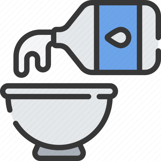 Baked, baking, cooking, ingredients, millk, pour icon - Download on Iconfinder
