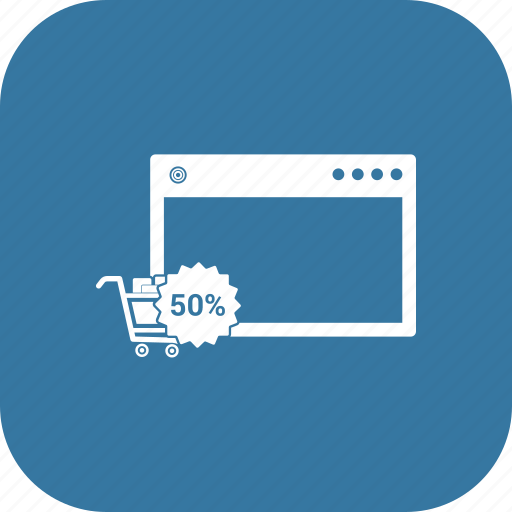 mobile, online shopping, phone, smartphone, tab icon