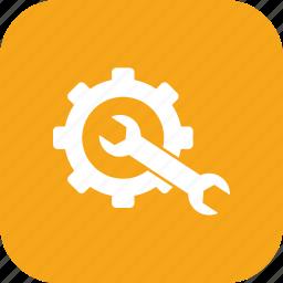 control, gear, preferences, repair, repair tool, tool icon